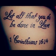 Tattoo Bible Quotes For Girls