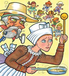 Ako šla rozprávka do sveta (Európske rozprávky), ilustrácie Helena Zmatlíková Princess Zelda, Illustration, Books, Fictional Characters, Art, Prague, Art Background, Libros, Book