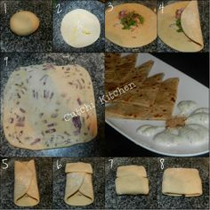 Onion Paratha - Step by Step Indian Foods, Indian Food Recipes, Tortillas, Cooking Time, Yum Yum, Food To Make, Onion, Good Food, Drink