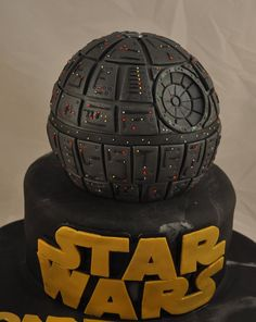 Star Wars Death Star Cake We were asked to make a death star cake for a 5 year old. There is so much more detail in this cake than a 5 year...