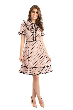 111 buy ruffled dresses midi dresses for women from fantasyou at stylewe online shopping stylewe sundress ruffled dresses daily a line ruffled bell sleeve color block casual dresses 38 Dressy Dresses, Simple Dresses, Beautiful Dresses, Midi Dresses, Ruffle Dress, Chiffon Dress, Dress Skirt, Cute Vintage Outfits, Vintage Dresses
