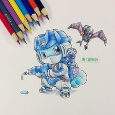 Artist: Itsbirdy | Squirtle