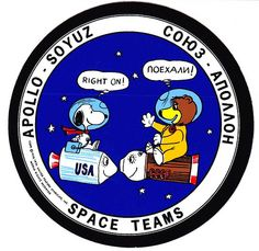 Snoopy the Astronaut ASTP | Snoopy and the Apollo 10 Gang Go to Space