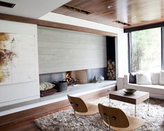 Modern Family Room Design, Pictures, Remodel, Decor and Ideas