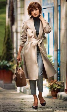 ファッション ファッション in 2020 Office Fashion, Work Fashion, Fashion Pants, Fashion Looks, Fashion Outfits, Womens Fashion, Work Casual, Casual Chic, Smart Casual