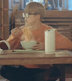Same though. I can never see when I eat ramen
