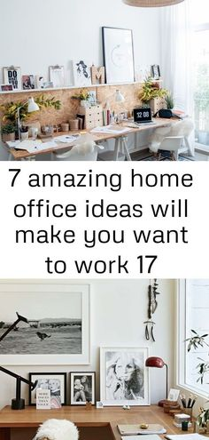 7 amazing home office ideas will make you want to work 17,  #Amazing #Home #ideas #modernindu...,  #Amazing #Home #ideas #industrialofficedeskideas #modernindu #Office #work