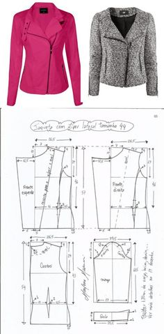 Amazing Sewing Patterns Clone Your Clothes Ideas. Enchanting Sewing Patterns Clone Your Clothes Ideas. Coat Patterns, Clothing Patterns, Dress Patterns, Sewing Patterns, Vogue Patterns, Vintage Patterns, Vintage Sewing, Blazer Pattern, Jacket Pattern