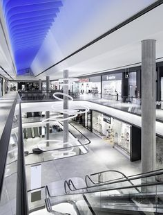 Germany design world das gerber stuttgart - shopping mall in Home Design, Mall Design, Design Salon, Retail Design, Design Ideas, Shopping Mall Interior, Retail Interior, Interior Exterior, Shopping Mall Architecture