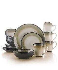 Sango Dinnerware Nova Brown 16 Piece Set | Dishes | Pinterest | Sango dinnerware Dinnerware and Brown dinnerware  sc 1 st  Pinterest & Sango Dinnerware Nova Brown 16 Piece Set | Dishes | Pinterest ...