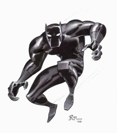 Black Panther by Bruce Timm