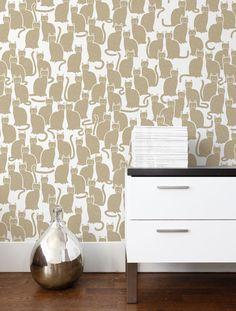 Shadowcat Wallpaper in Sphinx design by Aimee Wilder