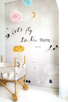 Divine design for little angels | 10 Wonderfully Whimsical Nurseries - Tinyme Blog