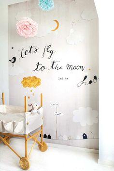 Divine design for little angels | 10 Wonderfully Whimsical Nurseries - Tinyme Blog