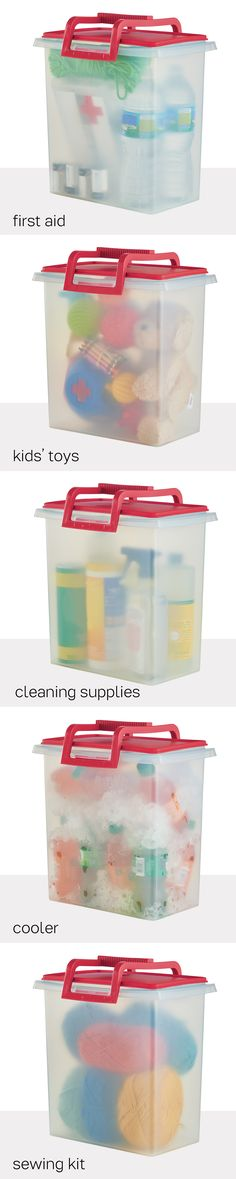 Large Carry All® With Handle. Tote and store toys, cleaning supplies, pet food, cold drinks and more. Available through September 30, 2016.