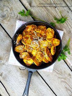 Oven roasted potatoes   Pasiunile Mihaelei
