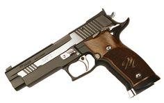 Sig Sauer P226 X-Five Black and White 9mm, Adjustable Target Sights, SAO - Top Gun Supply