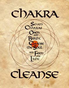 "Book of Shadows:  ""Chakra Cleanse,"" by Charmed-BOS, at deviantART."