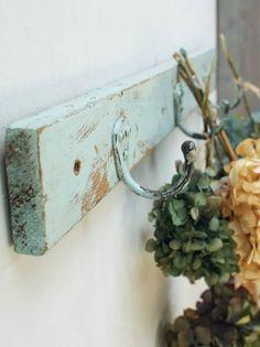 イギリスアンティーク学校のフック3連小物掛け1223 Antique wall hook ¥6000円 〆03月26日
