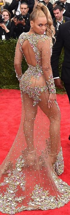 2015 Met gala in NYC | Beyonce Knowles in Givenchy