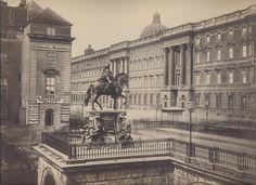 Berlin, Kurfürsten Denkmal auf der Kurfürsten Brücke, um 1890.