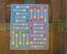 Sewing Pattern, Elizabeth Hartman, Pointy Quilt Pattern