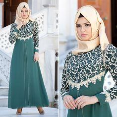 ZERNIŞAN - EVENING DRESS - 540611Y #hijab #naylavip #hijabi #hijabfashion #hijabstyle #hijabpress #muslimabaya #islamiccoat #scarf #fashion #turkishdress #clothing #eveningdresses #dailydresses #tunic #vest #skirt #hijabtrends