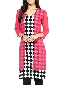 Check out what I found on the LimeRoad Shopping App! You'll love the pink cotton kurta. See it here http://www.limeroad.com/products/10139036?utm_source=7168568ab3&utm_medium=android