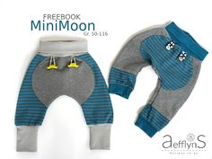 FREEBOOK- Sweathose 'MiniMoon'