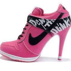 I'm gonna be at the beach all wkn and I'm goin to the freakin Nike store and getn a white pair blk pair and these pink pair! I called the outlet and they have all 3 colors in my sizes! WOOT WOOT