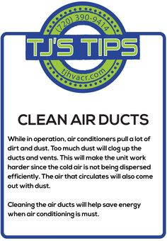 Helpful HVAC tips for Homeowners and Businesses.