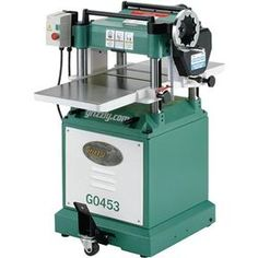 """G0453 15"""" Planer. Probably overkill for my needs, but it sure would be nice, especially for edge-joined boards."""