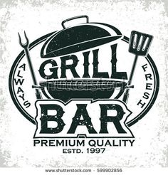 Find Vintage Barbecue Restaurant Logo Design Grange stock images in HD and millions of other royalty-free stock photos, illustrations and vectors in the Shutterstock collection. Thousands of new, high-quality pictures added every day. Logo Restaurant, Resturant Logo, Pub Logo, Barbecue Restaurant, Vintage Restaurant, Grill Bar, Grill Logo, Food Menu Design, Food Truck Design
