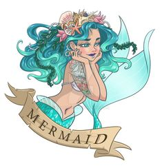 I like the seaweed and shells in her hair. Not the rest of it.