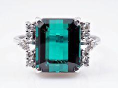 H. Stern Ring Brillanten Turmalin Indigolit 750 Gold 18 Karat    eBay