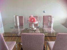 centro plata decorado con flores rosa en www.virginia-esber.es