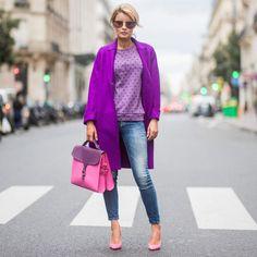 Trendfarbe 2018: Violett