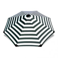 Chaplin Stripe 2.8m Large Umbrella - Basil Bangs
