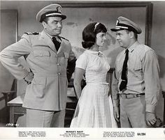 Mchale'S Navy (Blue) From Left Ernest Borgnine Claudine Longet Tim Conway 1964 Photo Print x Great Tv Shows, Old Tv Shows, Mchale's Navy, Ernest Borgnine, My Babysitter, Hale Navy, Vintage Television, The Beach Boys, Comedy Tv