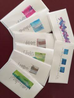 Kalligraphiekarten