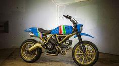 Ducati's Scrambler Maverick is designed by tattoo artist GRIME - Autoblog