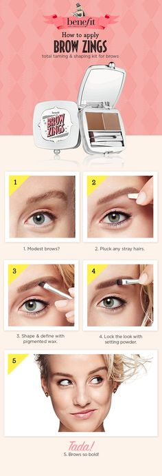 Ever wondered how you apply brow-zings? Learn how with this easy brow makeup tutorial! xx