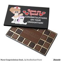 Nurse Congratulations Graduation box of chocolate 45 Piece Box Of Chocolates