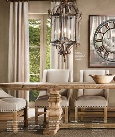St. James Dining Table | Restoration Hardware   Another Great Table Option  | Decorating Ideas | Pinterest | Restoration Hardware, Saint James And ...
