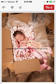 Special Delivery baby, would be really cute for Adoption. Those babies really do arrive special delivery! Newborn Pictures, Baby Pictures, Baby Photos, Newborn Pics, Children Photography, Newborn Photography, Photography Pics, Photography Magazine, Funny Babies