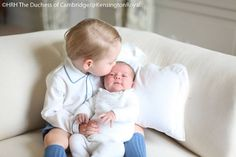 Duchess Kate: The Cambridges Release Four Photos of George and Charlotte Taken by Kate!