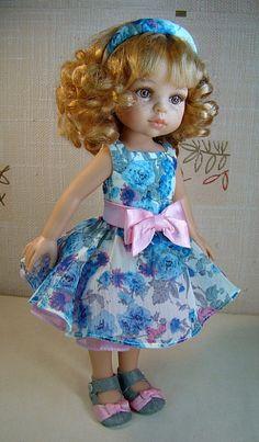 Летнее платье для Паолки
