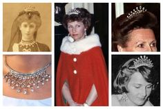 My Ultimate Convertible Tiara: 2-Way Tie - Norway's Queen Maud Vifte Tiara @ A Tiara a Day