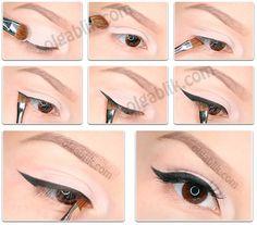 How to Apply Eyeliner - Olga Blik