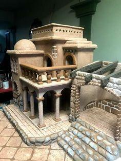 Nativity Scenes, Christmas 2019, Diorama, Big Ben, Portal, Cribs, Decoration, Building, Biomes